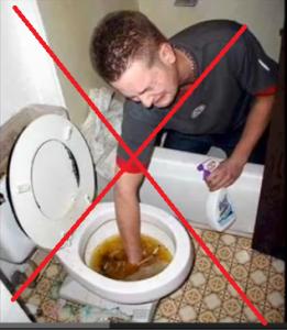 tuvalet tıkandı ne yapmalıyım