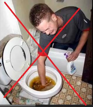 tuvalet tıkanıklıkları